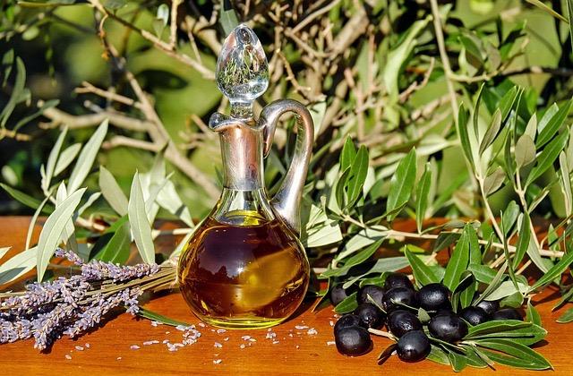 Les huiles d'olives